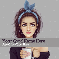 name pictures - Girl with Cup