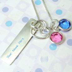 Jewelry name pictures - Colorful Pendant