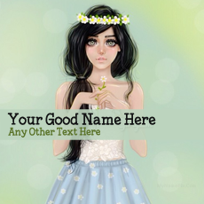name pictures - Pretty Girl Drawing
